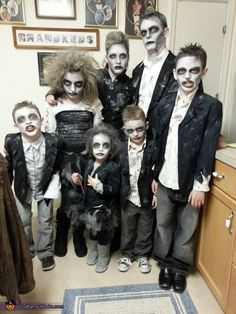 Zombie Apocalypse - Family Halloween Costume
