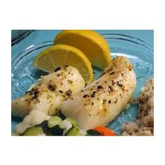 Fantastic Lemon Butter Fillet Recipe - I made this using cod and it was delicious. I burned the garlic butter when I diced the garlic, but once I redid it and pressed the garlic the sauce cooked down great. Tuna Recipes, Wrap Recipes, Lemon Recipes, Seafood Recipes, Sweet Recipes, Vegetarian Recipes, Cooking Recipes, Fish Dishes, Seafood Dishes