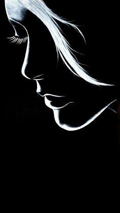 Black Canvas Art, Black Canvas Paintings, Simple Acrylic Paintings, Diy Canvas Art, Black And White Art Drawing, Black Paper Drawing, Black White Art, Dark Art Drawings, Art Drawings Sketches