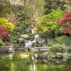Kyoto Japanese Garden, Holland Park, London by violinconcertono3, via Flickr