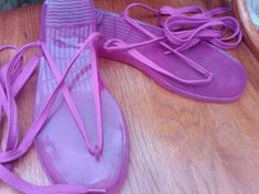 Jelly Sandals!