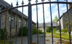 House for sale in Plénée-Jugon, France : Former school with 2 dwellings near shops, lovely surrounding countryside et forest, French Property, Brittany, Windows, France, House, Home, Homes, Bretagne, Ramen