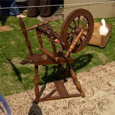 How to Identify an Antique Spinning Wheel