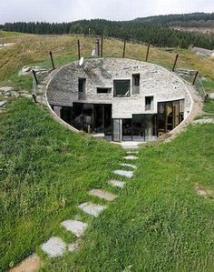 Sheltered earth home - Switzerland