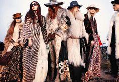 the new look: fur+western - LA MODELLA MAFIA