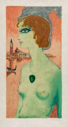 Kees van Dongen, Marchesa Luisa Casati, 1921.