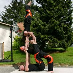 1000 images about 3 person stunts on pinterest  stunts