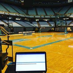 My seat for the game tonight. #uncvsduke #tarheelnation #gram