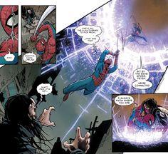 Silk saves Spider-Man (again) in Amazing Spider-Man #14 (vol. 3)