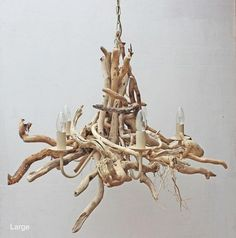These driftwood chandeliers by Julia Horberry are the perfect lights accessory with the coastal encouraged residence. Driftwood Furniture, Driftwood Projects, Home Decor Accessories, Decorative Accessories, World Painter, Driftwood Chandelier, Coastal Chandelier, Chandelier Ideas, Coastal Lighting