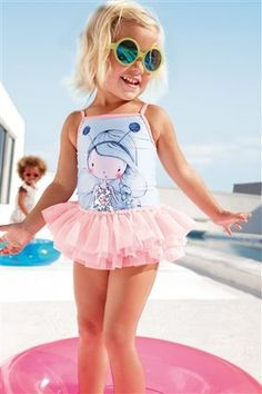Girl Tutu Swimsuit (3mths-6yrs)