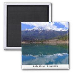 Lake Doxa – Corinthia Fridge Magnet