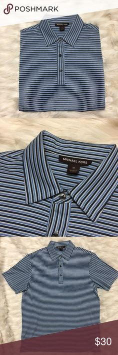 Men's Michael Kors polo Like new condition, never worn! No stains or rips. 100% cotton Michael Kors Shirts Polos
