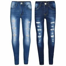 Kids Girls Skinny Jeans Ripped Stretchy Denim Pants Jeggings New Age Years Denim Pants, Ripped Jeans, Leather Pants, Spring Outfits, Girl Outfits, Girls Skinny Jeans, Fashion Design Sketches, Simple Dresses, Easy Dress