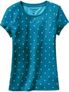 Girls Printed Crew-Neck Tees | Old Navy. 5.00