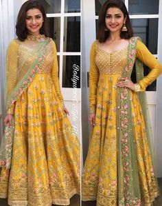 Indian Pakistani Bridal Anarkali Suits & Gowns Collection 2018-2019