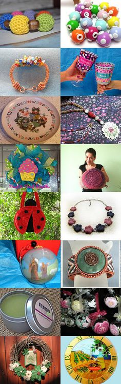 Round and Round and Round We Go! Group 4 by Carol Becker on Etsy--Pinned with TreasuryPin.com #onlineshopping #giftideas #etsytreasury #etsygifts #gifts #etsy