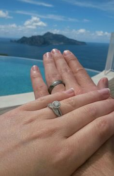 Relais Blu. Wedding Rings. Capri. Paradise.
