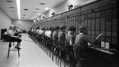 vintage everyday: 20 Vintage Photos of Women Telephone Operators at Work Vintage Photographs, Vintage Photos, Shorpy Historical Photos, Photos Of Women, Photo Archive, The Good Old Days, Old Photos, American History, 1950s