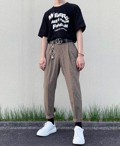 Source by muckithard clothes fashion boy Indie Outfits, Korean Outfits, Retro Outfits, Grunge Outfits, Trendy Outfits, Cool Outfits, Grunge Dress, Korean Clothes, Grunge Fashion