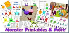 Monster Printables