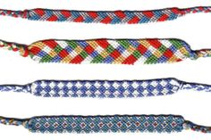 You+Friends+Today=Make some at home friendship bracelets #friendsmakelifemorefun