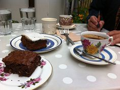 Very long and slow coffe in Ireland (The Cake Cafè, Dublin) http://www.thecakecafe.ie/content.aspx?contentid=39