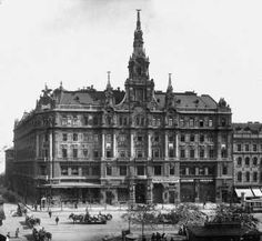 New York Palace, Budapest Vintage Architecture, Central Europe, Budapest Hungary, Old Buildings, Rotterdam, Vintage Photography, Vintage Images, Old Photos, The Past