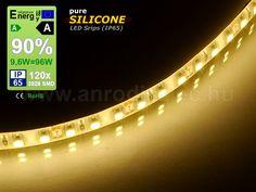 LED szalag kültéri (3528-120-FN) - meleg fehér