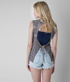 Gimmicks by BKE Washed Tank Top - Women's Tank Tops in Brindle | Buckle