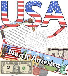 USA resources - display, printables, worksheets - twinkl.co.uk
