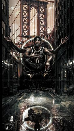 Kyrie In Brooklyn Funny Basketball Memes, Mvp Basketball, Basketball Posters, Basketball Girlfriend, Basketball Videos, Basketball Design, Basketball Birthday, Basketball Shirts, Cool Backgrounds Wallpapers