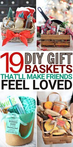 Homemade Gift Baskets, Diy Gift Baskets, Christmas Gift Baskets, Homemade Christmas Gifts, Homemade Gifts, Christmas Presents, Summer Christmas Gifts, Diy Xmas Gifts, Handmade Christmas