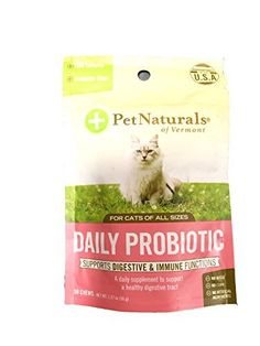 Pet Naturals of Vermont Daily Digest FunShaped Chews for Cats >>> You can get additional details at the image link.Note:It is affiliate link to Amazon.