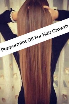 Using Peppermint Oil For Hair Growth Is the Safest Home Remedy : Study Reveals Peppermint Oil Hair Growth, Hair Growth Home Remedies, Essential Oils For Hair, Extreme Hair, Stop Hair Loss, Hair Growth Oil, Strong Hair, Beauty Hacks, Beauty Tips