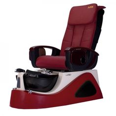 Argento SE Spa Pedicure Chair - The ANS Argento SE is a stylish stainless steel pedicure spa that features beautiful glass sink bowl. Spa Pedicure Chairs, Pedicure Spa, Spa Chair, Massage Chair, Nail Salon Furniture, Spa Lighting, Drain Pump, Acetone, Salons