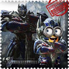 Transformer Minions Are Here. OptimusPrime Minion