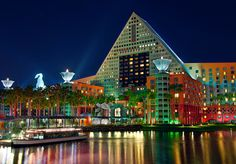 the Disney Dolphin Resort - designed by Princeton, NJ architect Michael Graves