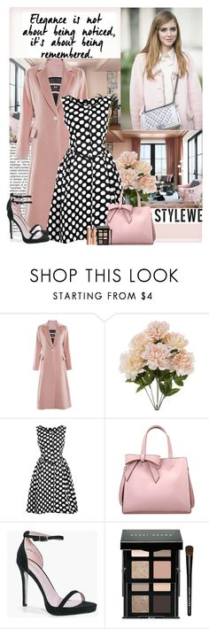 """StyleWe"" by polybaby ❤ liked on Polyvore featuring Boohoo, Bobbi Brown Cosmetics, Charlotte Tilbury and stylewe"