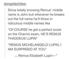 Remus Elizabeth LupinXD