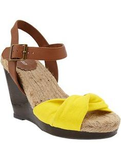 Old Navy Wedges... stop me from buying these!!