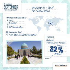Trendreiseziel Mashhad im #Iran. Günstige Flüge finden: http://flug.idealo.de/
