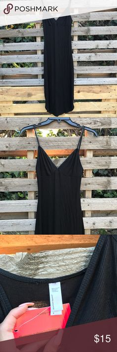 AA Ribbed Dress Very good for summer and very stretchy American Apparel Dresses Midi