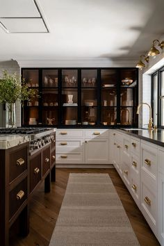 Home Decor Kitchen, Interior Design Kitchen, New Kitchen, Home Kitchens, Cooper Kitchen, Kitchen Furniture, Kitchen Ideas, Dream Home Design, House Design