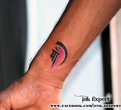 Maa Tattoo done by Raj Yadav at Ink Expert Tattoo studio Mo :- +919033666765