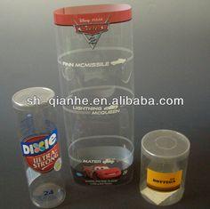 Cilindro di plastica trasparente/pvc cilindro/cylider con coperchio-Box-Id prodotto:717259705-italian.alibaba.com