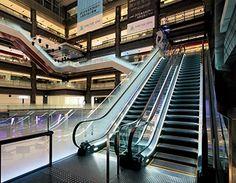 Exterior view of escalator (North Building)