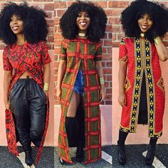 Long African Top with Front Slit, African Clothing, Women's Clothing, African Print Top african fashion African Inspired Fashion, African Print Fashion, Africa Fashion, Fashion Prints, Fashion Design, Ankara Fashion, African Women Fashion, Fashion Styles, African Dresses For Women