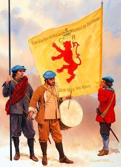 Scottish Strathbogie Regiment, Aberdeen, 1644 English Civil War