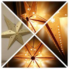 Hjemmelaget adventstjerne i papir #advent #jul #julestjerne #adventstjerne #christmas #christmasstar